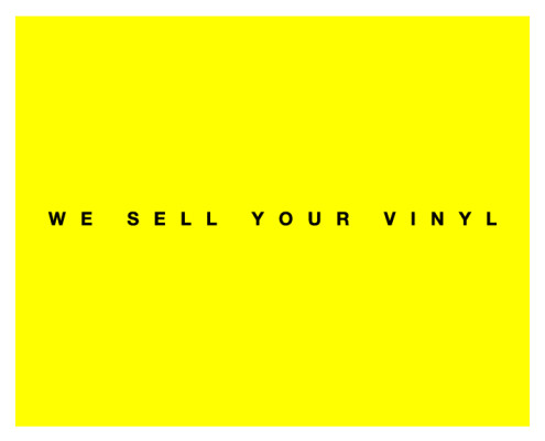 We sell your Vinyl