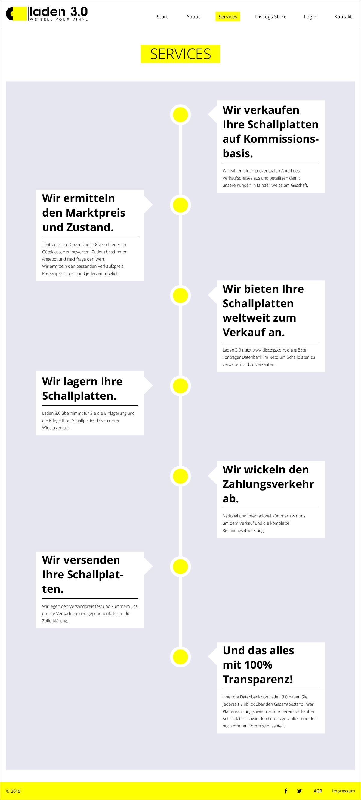 Laden 3.0 Webseite Services Webdesign Gesa Siebert Kommunikationsdesign