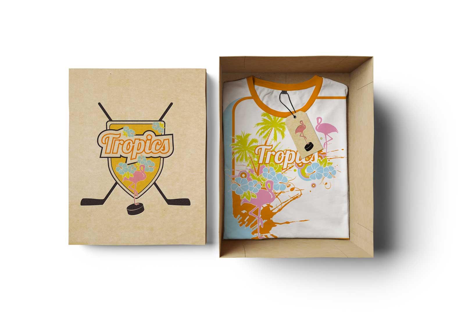 Tropics Trikot T-Shirt Visual Branding Gesa Siebert Kommunikationsdesign