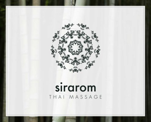 sirarom Thai Massage Corporate Design Geschäftsausstattung Branding Gesa Siebert Kommunikationsdesign