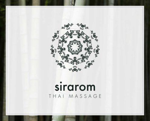 sirarom Thai Massage Corporate Design Geschäftsausstattung Branding Gesa Siebert Kommunikationsdesign